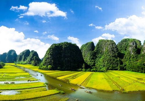 Tam Coc en Vietnam