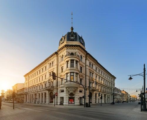 Calle Piotrkowskaen Lodz