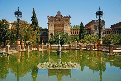 El parque de María Luisa de Sevilla