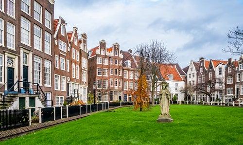 Beginjhof en Ámsterdam