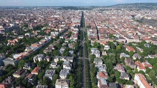 Avenida Andrassy en Budapest