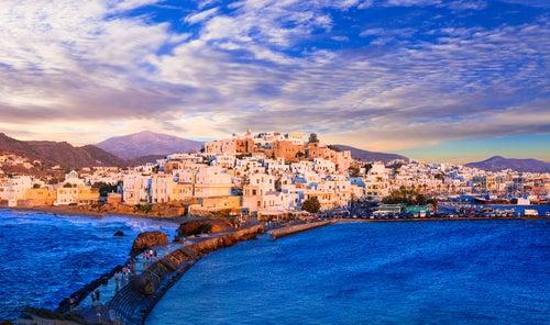 Naxos en Grecia