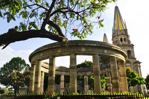 Rotonda de los Jalicienses en Guadalajara