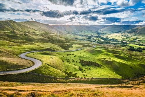 Vamos a recorrer el bello Peak District en Inglaterra