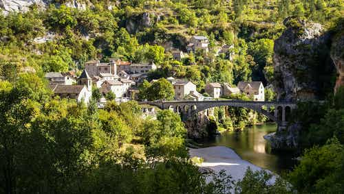 Visitando las gargantas del Tarn en Francia y mucho más
