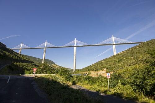 Viaducto Millau en Francia