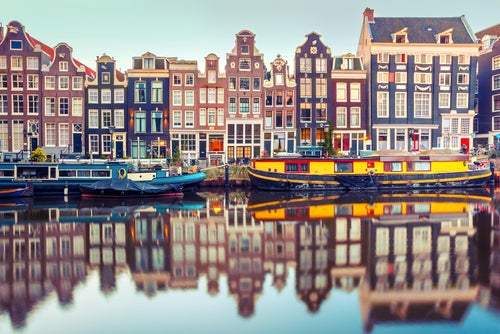 Ámsterdam en Holanda