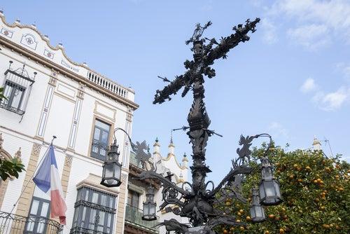 Plaza de Santa Cruz de SEvilla