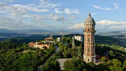 Torre de Aguas en el Tibidabo