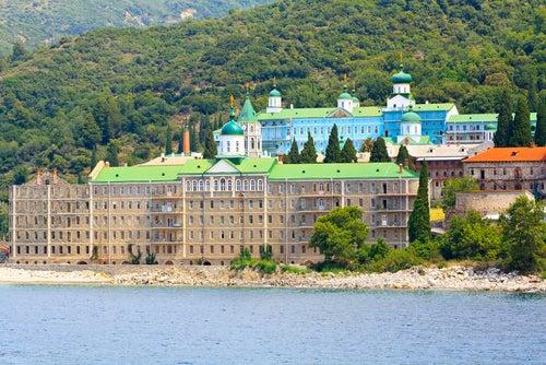 Monasterio Panteleimonos en Monte Athos