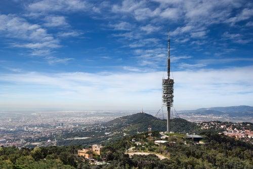 Torre de Collserola en el Tibidabo