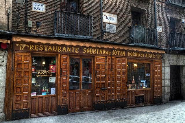 Restaurante Sobrino de Botín en Madrid
