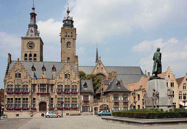 Diksmuide en Bélgica
