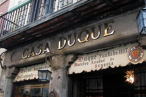 Casa Duque en Segovia