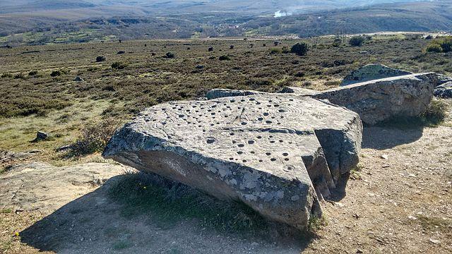 Petroglifos en Lucillo