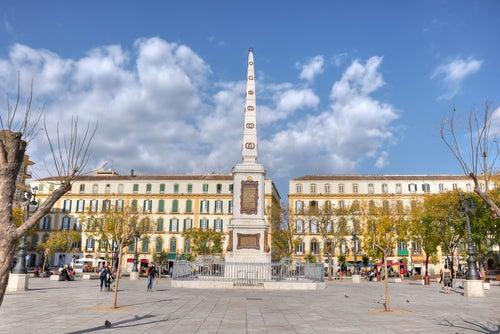 Plaza de la Merced de Málaga