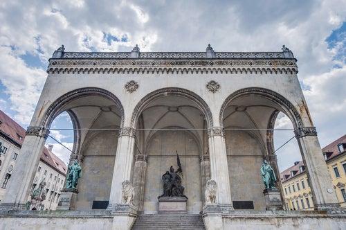 Odeonplatz en Munich