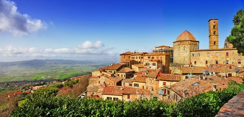 Volterra en la Toscana