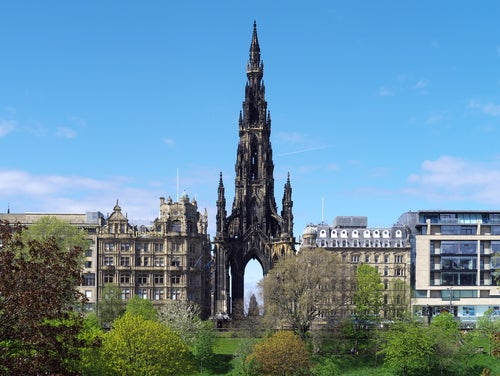 Monumento a Scott en Edimburgo