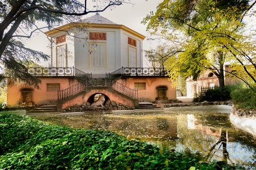 Jardines de El Capricho en Madrid