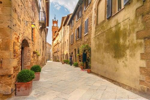 Pienza en la Toscana
