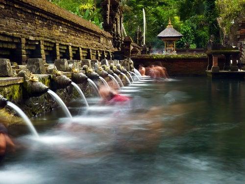 Templo Tirta Empul en Bali