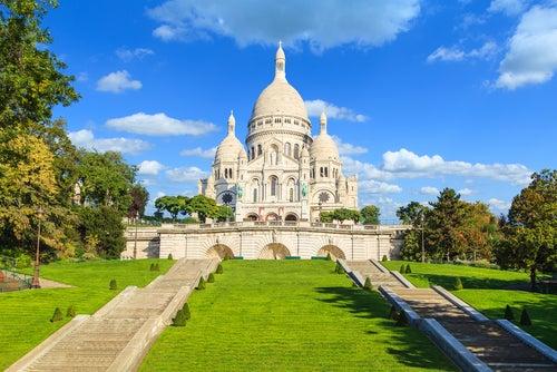 Sacre Coeur en Montmartre