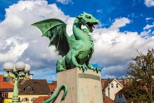 Puente delos Dragones en Liubliana