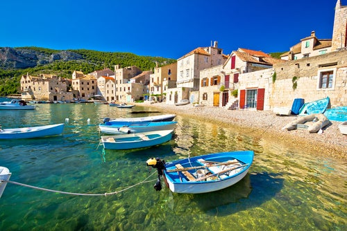 Isla de Vis en Croacia