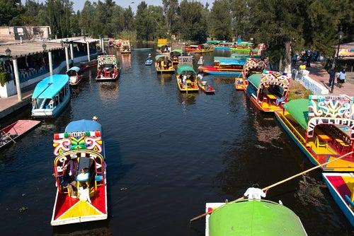 Xochimilco, una pequeña Venecia en México