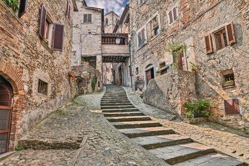 Anghiari en la Toscana
