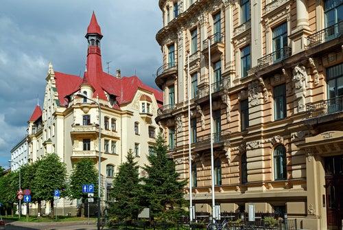Riga en Letonia