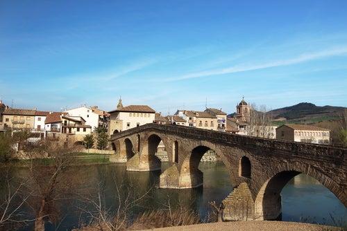 Puente de la Reina en el Camino Francés