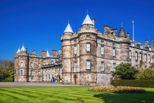 Palacio Holyroodhouse en Edimburgo