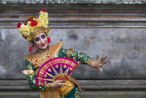 Bailarina balinesa