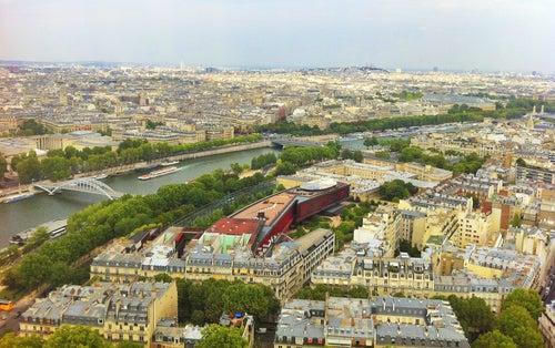 Vista de París desde Montmartre