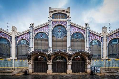 El Mercado Central de Valencia, una joya arquitectónica
