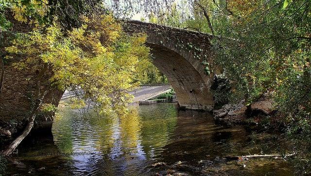 Río Eresma en Segovia