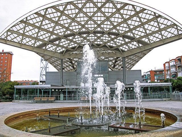 Estación de Entrevías en Madrid