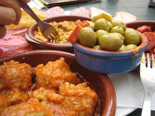Tapas de Granada