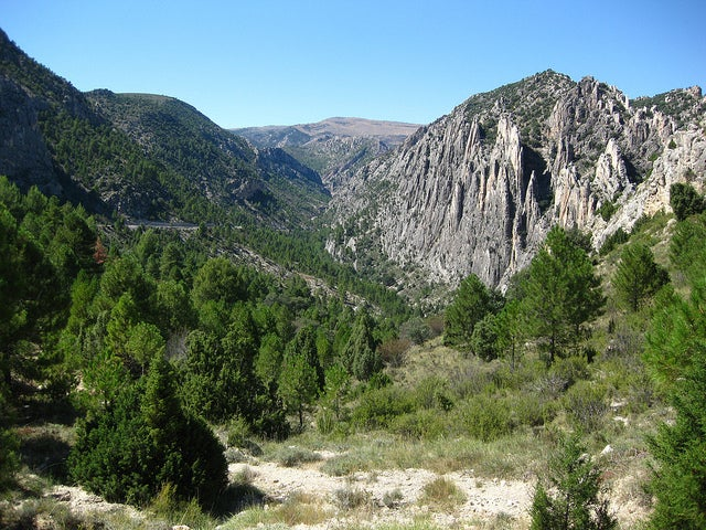 Sierra del Maestrazgo en Teruel