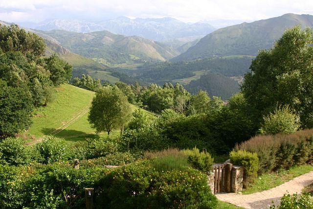 Sierra de Cuera en Asturias