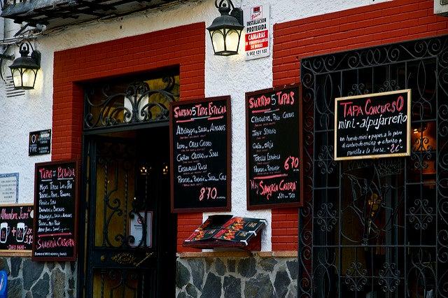 Bar de tapas de Granada