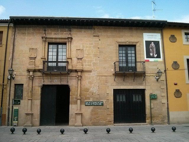 Casa de la Cofradía del Santo en Santo Domingo de la Calzada