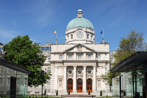 Leinster House en Dublin