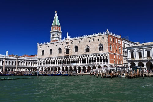 Palacio ducal en Venecia