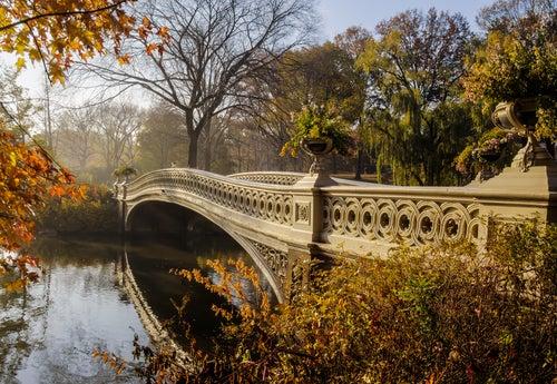 Bow Bridge en Nueva York