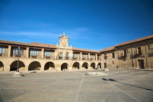 Plaza de España de Santo Domingo de la Calzada