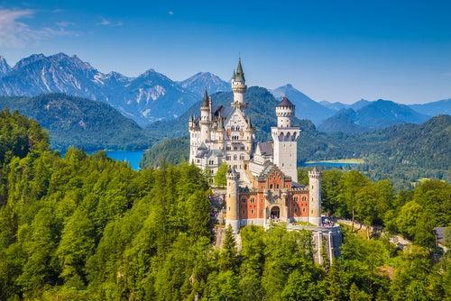 Castillo de Neuschwanstein en Baviera