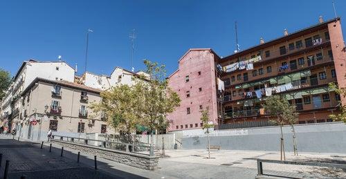 Barrio de Lavapiés en Madrid